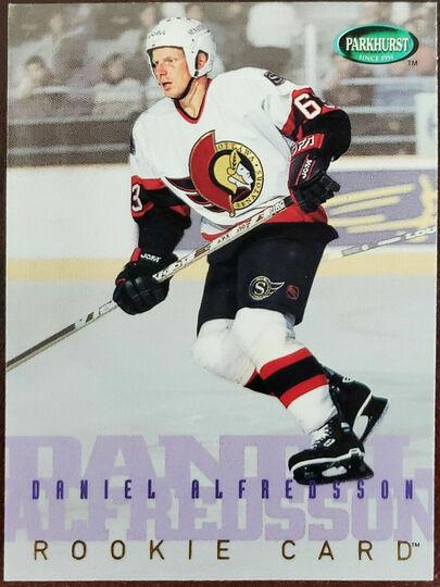 1995-96 Parkhurst Daniel Alfredsson Rookie
