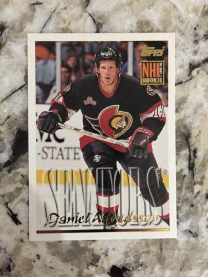 1995-96 Topps Daniel Alfredsson Rookie