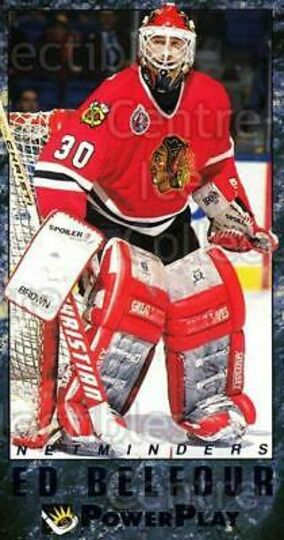 1993-94 PowerPlay Netminders #2 Ed Belfour