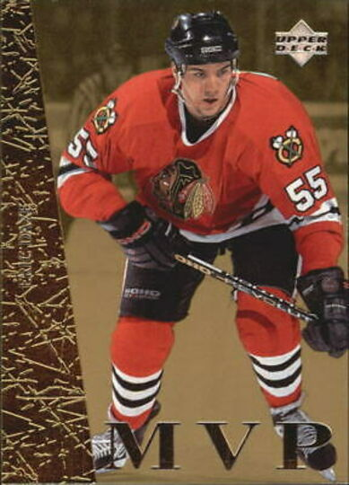 1996-97 Collector's Choice MVP Gold #UD37 Eric Daze