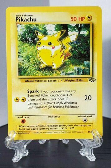 Pikachu Jungle 60/64