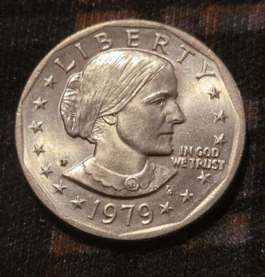 Susan B Anthony Liberty 1979 D ONE DOLLAR U.S. Mint Coin **Ungraded* RARE FIND