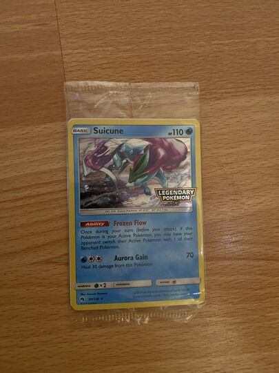 Pokemon Karte Suicune 59//214 NEU DE Promo