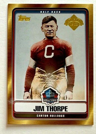 Jim Thorpe HOFT-JT TOPPS