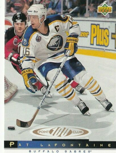 1993-94 Upper Deck Pat Lafontaine 221
