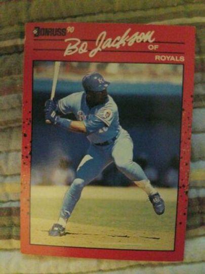 1990 donruss bo jackson 61
