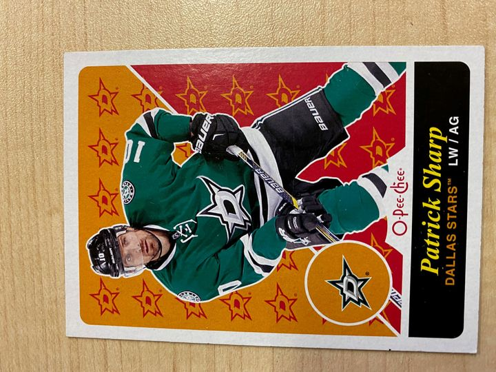 2015/16 O Pee Chee Retro Parallel Card, number U4, Patrick Sharp