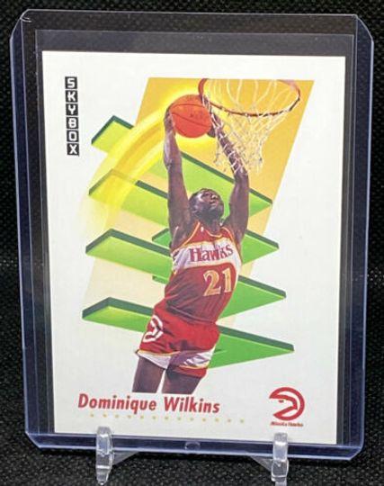 1991 SkyBox Dominique Wilkins #10