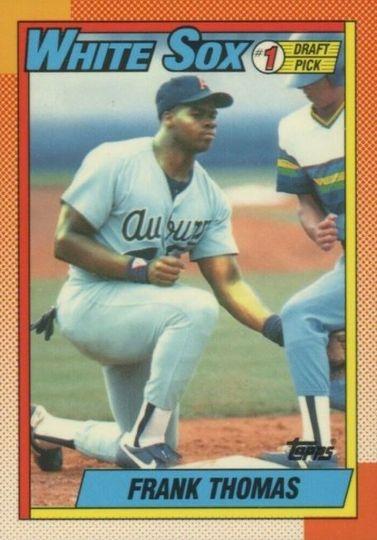 1990 Topps Frank Thomas #414 Rookie