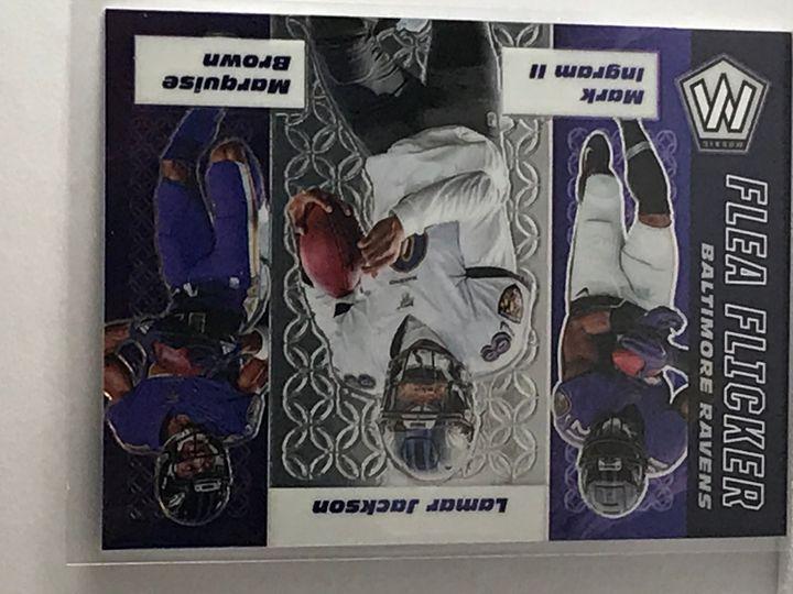 2020 Lamar Jackson Mosaic Flea Flicker Ravens #FF2