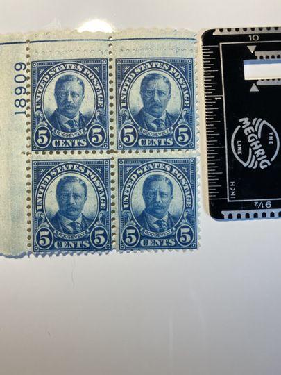 5 cent roosevelt stamp