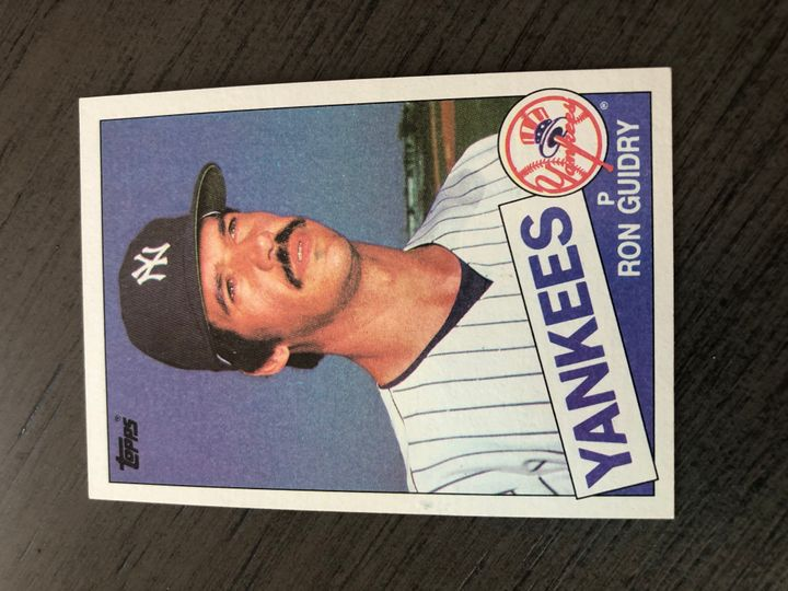 1985 TOPPS RON GUIDRY 790