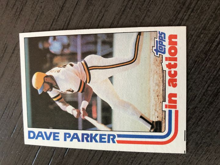 1982 TOPPS DAVE PARKER 41