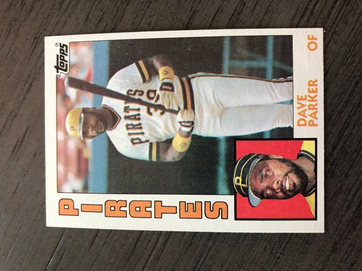1984 TOPPS DAVE PARKER 775