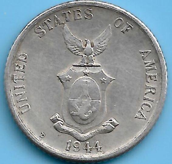 1944 20 Centavos Philippines