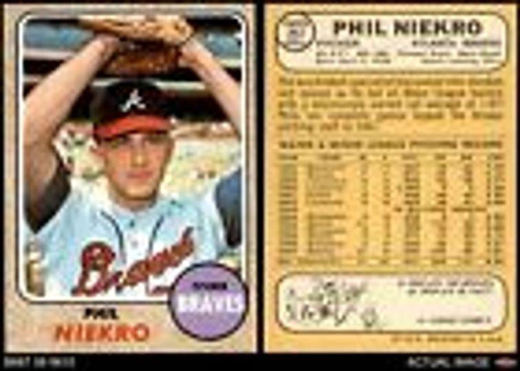 Phil Niekro # 257