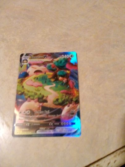 snorlax Vmax 142/202 Collection Image