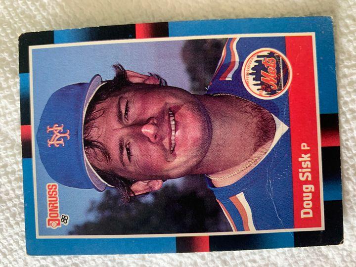1988 Donruss Doug Sisk 642