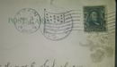 1906 1 cent franklin stamp