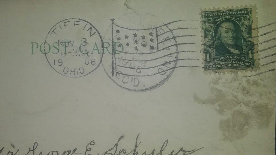 1908 franklin stamp