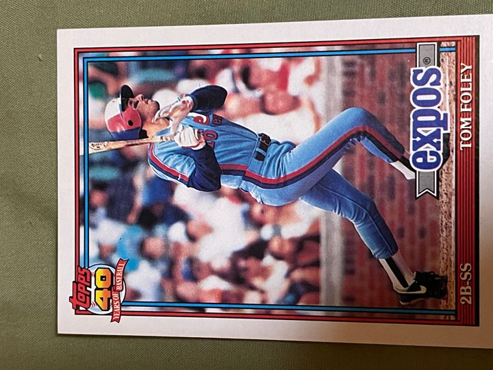 1991 Topps Base Collection Image