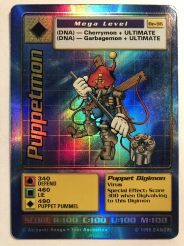 4x BT1-072 Woodmon Digimon 2020 TCG English Uncommon Near Mint Playset