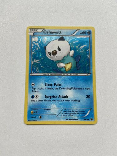 Pokemon TCG BW PROMO OSHAWOTT BW08 RARE HOLO