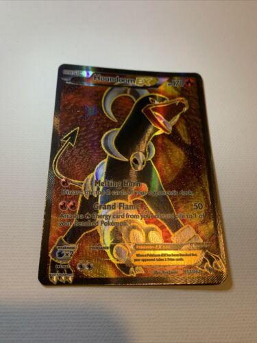 Houndoom EX 153//162 Full Art Ultra Rare Pokemon EN NM XY Breaktrough