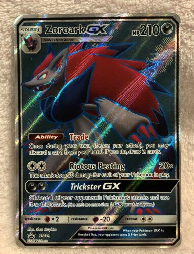 Black Star Promo SM84 Standard Size Pokemon TCG ZOROARK GX Full Art