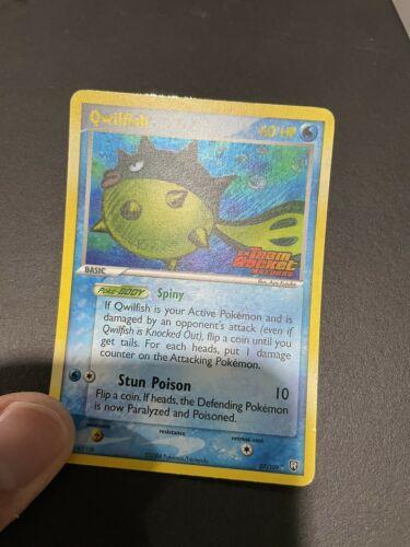 Qwilfish 27/109 Team Rocket Returns Rare Stamped Holo Pokemon TCG 2004 NM - Image 4