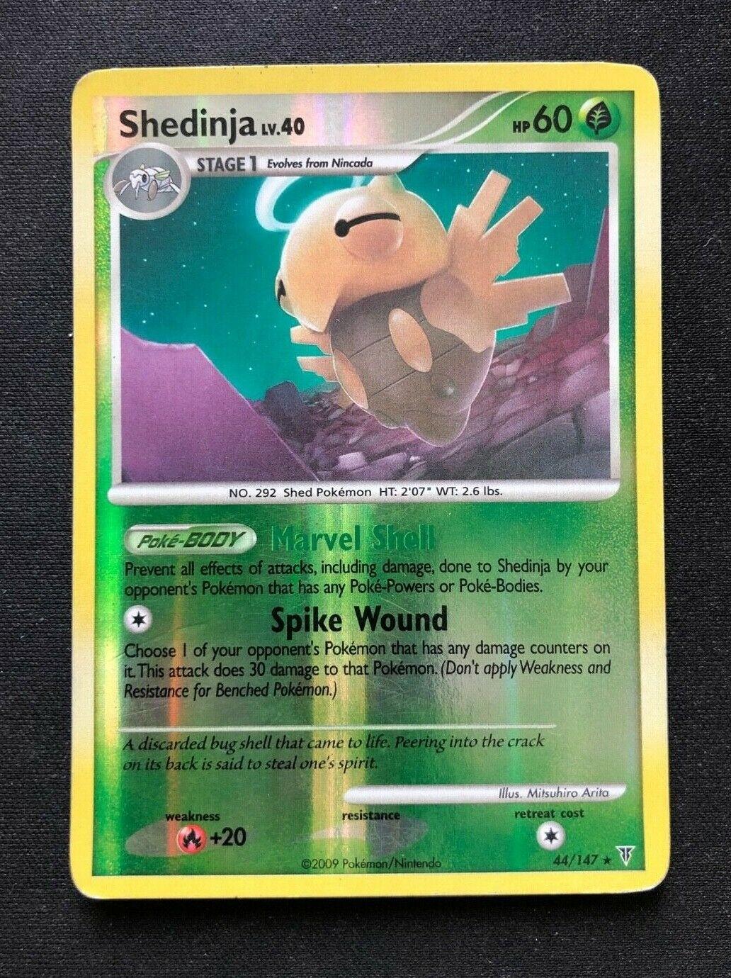 FREE SHIPPING! Pokemon Card Supreme Victors Rare Shedinja 44//147