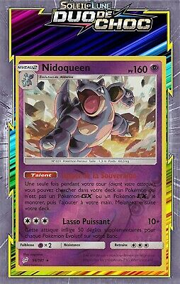 Nidoqueen Reverse - SL09:Duo De Choc - 56/181 - Carte Pokemon Neuve Française