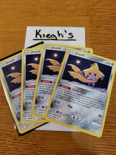 Pokemon - Jirachi x4 *99/181*