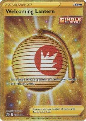 Pokemon Card Chilling Reign 230/198 Welcoming Lantern Item Secret Rare