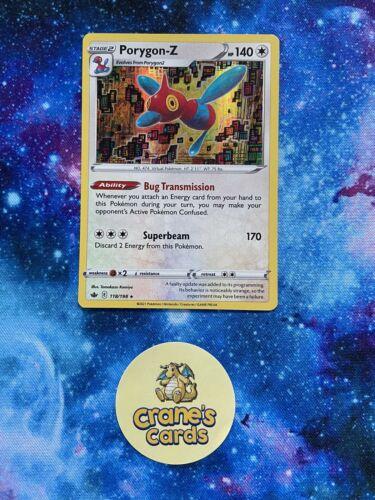 Porygon-Z Holo Rare 118/198 SWSH Chilling Reign Mint Pokemon Card