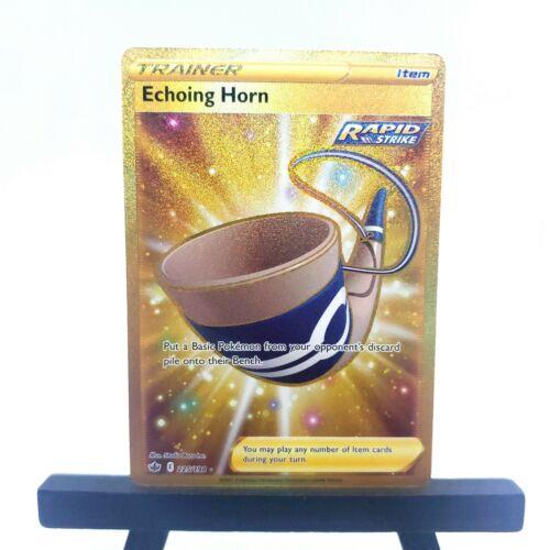 Pokemon - Chilling Reign: Echoing Horn (225/198) - Near Mint Secret Rare