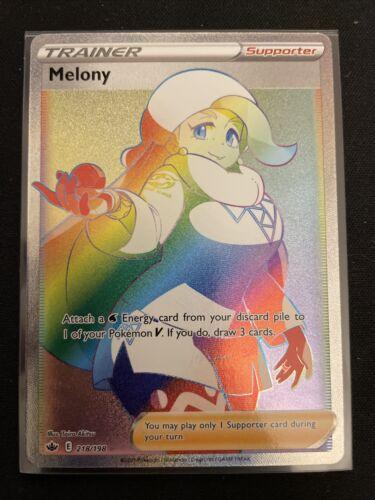 SECRET RARE MELONY 218/198 ENGLISH Pokemon Chilling Reign