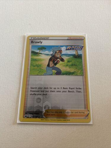 Brawly 131/198 - Reverse Holo Trainer - Pokemon Chilling Reign
