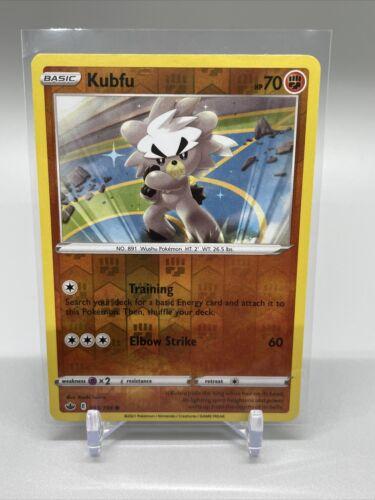Pokemon TCG Chilling Reign Reverse Holo Kubfu 093/198 - Image 1
