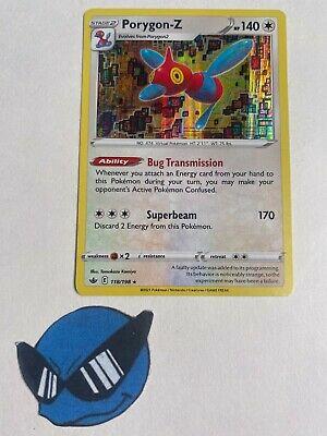 Pokemon TCG : Porygon-Z 118/198 Holo Chilling Reign