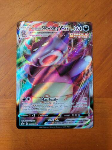 Pokemon Galarian Slowking VMAX (100/198) - Chilling Reign