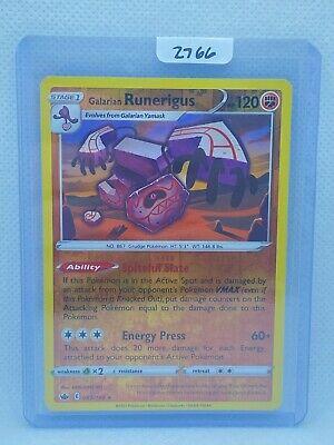 Pokémon TCG Galarian Runerigus Reverse Holo 083/198 | Chilling Reign |