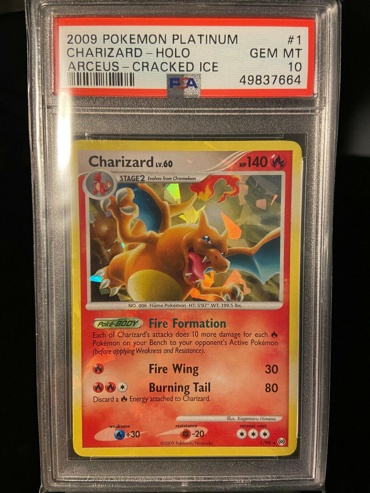 NM 1//99 Charizard Pokemon Holo Rare Arceus