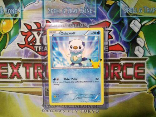 Pokemon: Oshawott 21/25 - Non Holo - Mcdonald's Promo 25th Anniversary - *M-NM