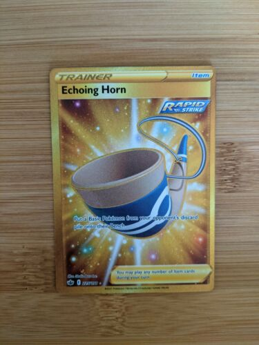 Echoing Horn Secret Rare 225/198 Chilling Reign NM/M Pokemon Card