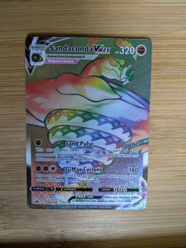 Sandaconda VMAX Secret Rare 206/198 Chilling Reign NM/M Pokemon Card