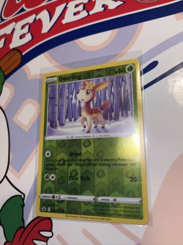 Pokemon Chilling Reign, Rev-Holo, Deerling - 011/198 Common