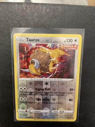 Pokemon TAUROS 115/198 Chilling Reign - RARE Rev Holo -