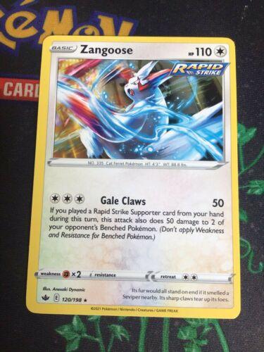 120/198 Zangoose | Rare Card | SWSH-06 Chilling Reign