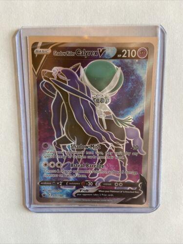Shadow Rider Calyrex V FULL ART NM/M 171/198 Chilling Reign Pokemon TCG